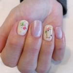 【ソフトジェル】   ドライフラワーの小花